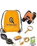Kids Binoculars Explorer Kit for Children -...