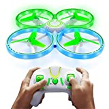 Power Your Fun UFO1 LED Mini Drone for Kids -...
