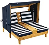 KidKraft Wooden Outdoor Double Chaise Lounge...