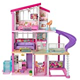 Barbie Dreamhouse Dollhouse with Wheelchair...