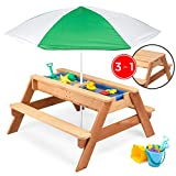 Best Choice Products Kids 3-in-1 Outdoor Wood...