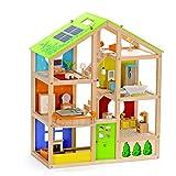 All Seasons Kids Wooden Dollhouse by Hape |...