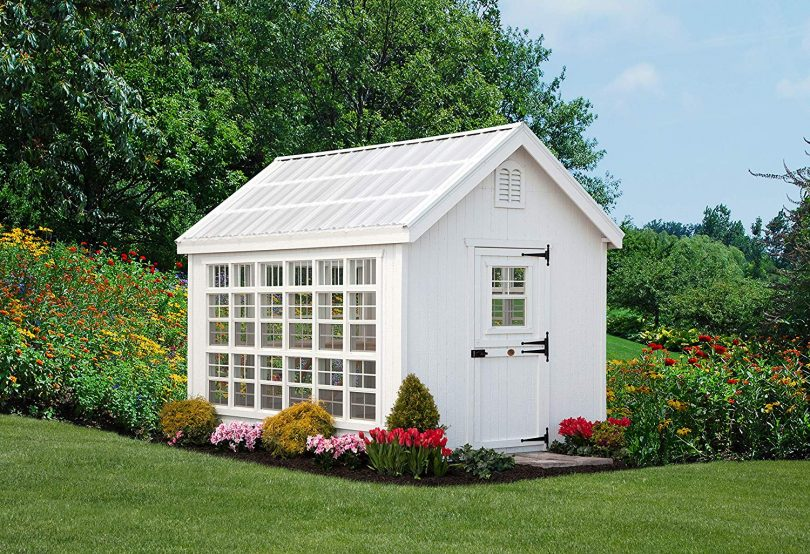 white-wooden-playhpouse-with-a-garden-beautiful-like-a-dream