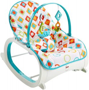 Fisher-Price-Infant-to-Toddler-Rocker-self-rocking-without-strom